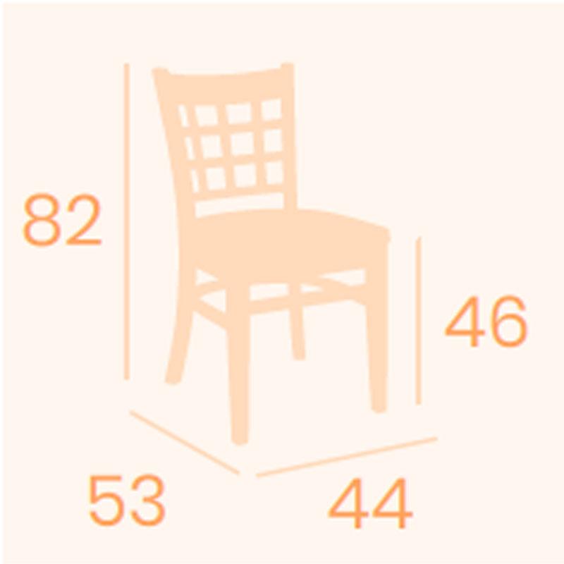 Dimensiones silla Britania REYMA