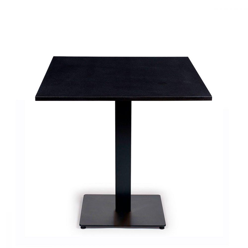 Mesa baviera con piedra de granito negro