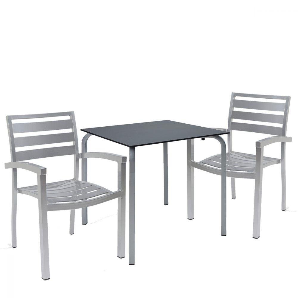 conjunto eros gris con mesa venus