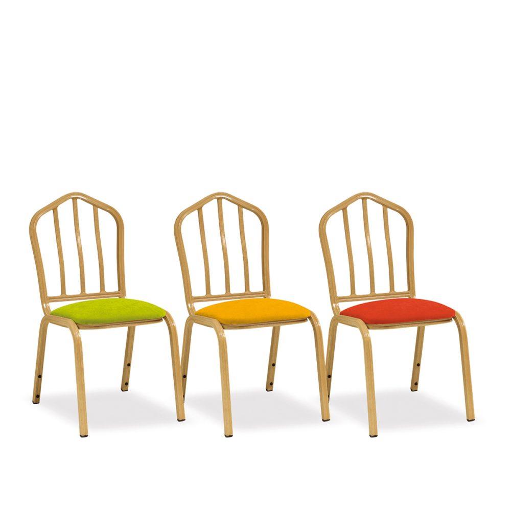 silla adriana aluminio
