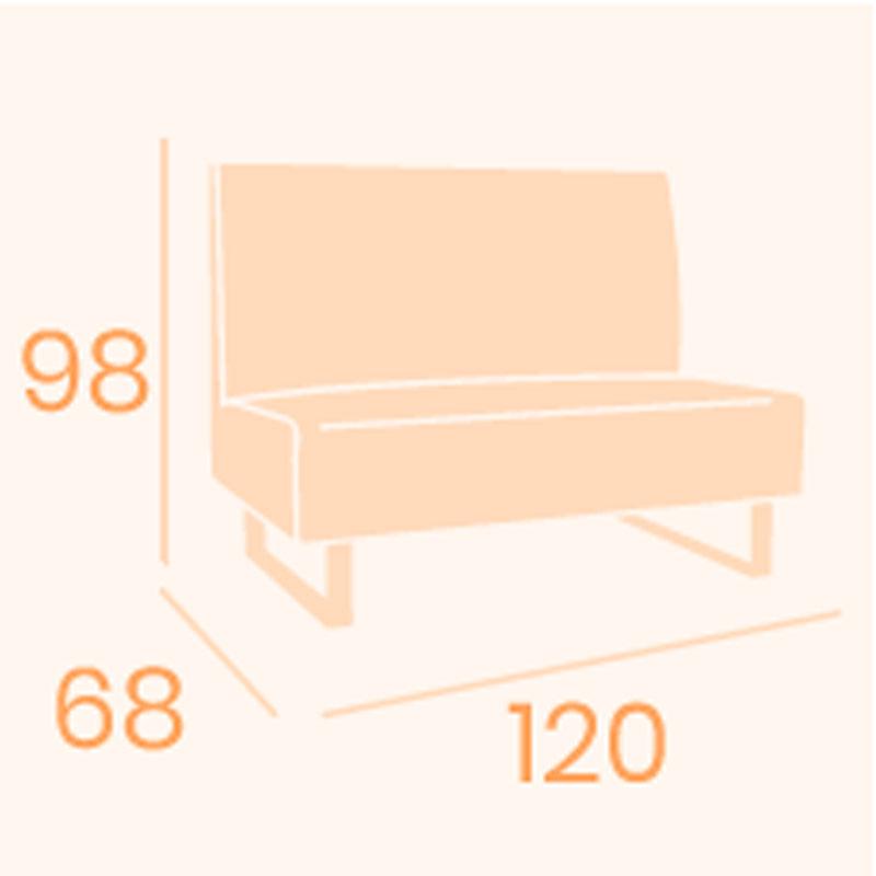 Dimensiones sofá Alfa REYMA