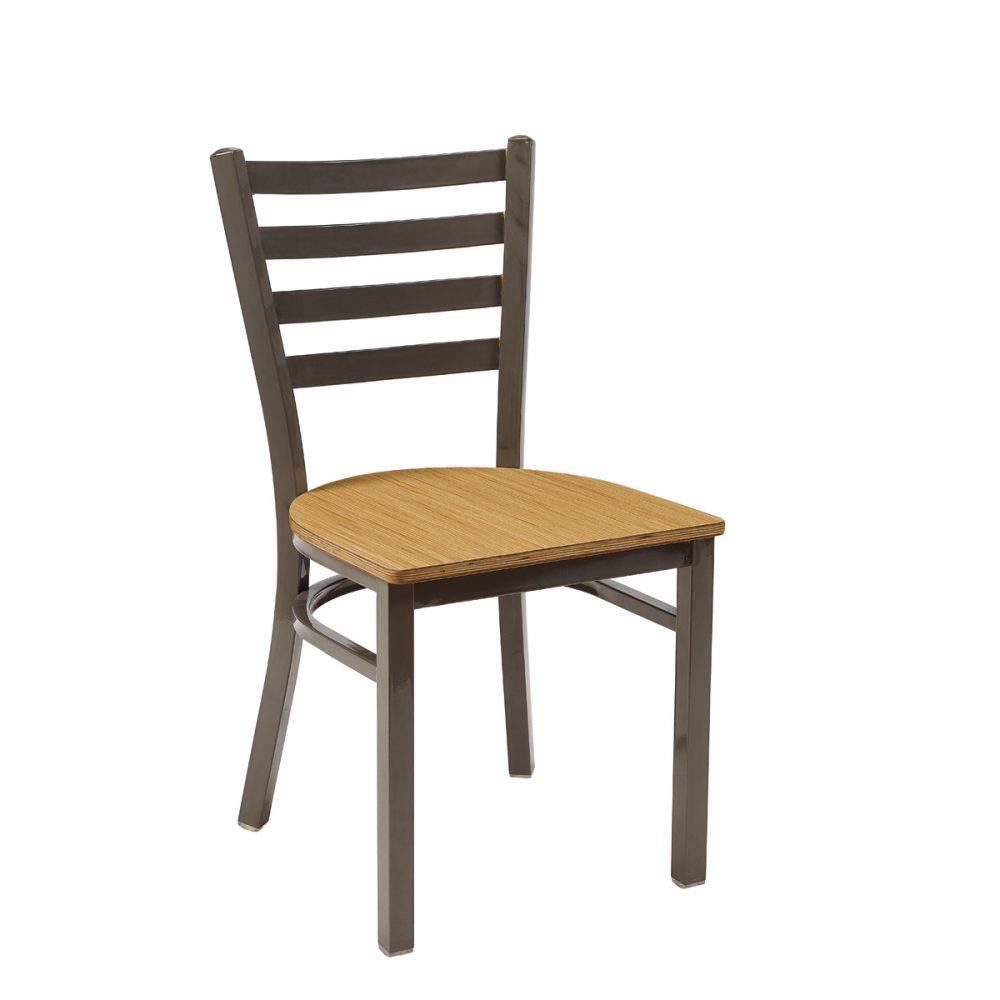 silla america gris envejecida asiento laminado kenya
