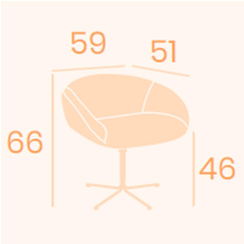 Dimensions fauteuil Basilea B-14 REYMA