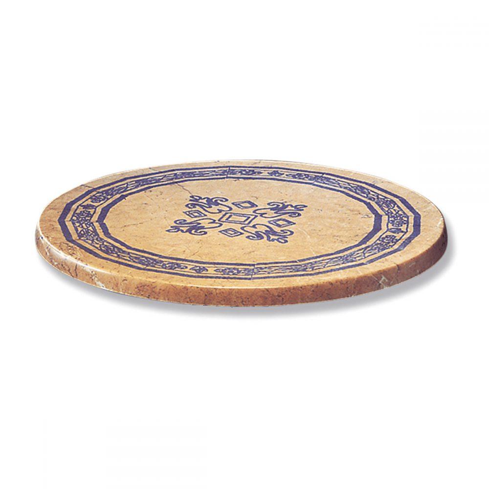 tablero mosaico azul