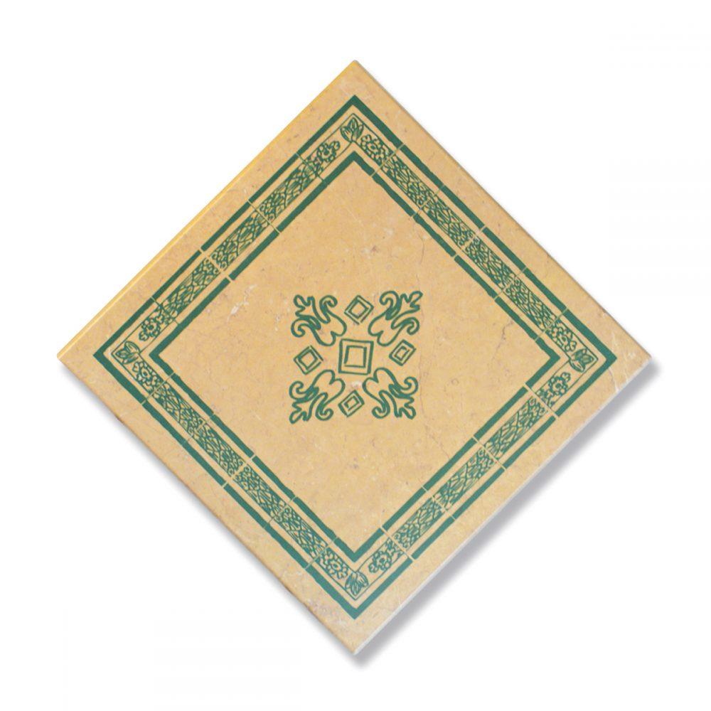 tablero mosaico verde