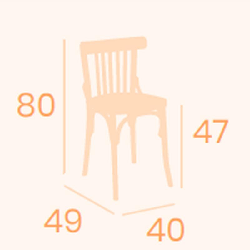Dimensiones silla Hamburgo REYMA