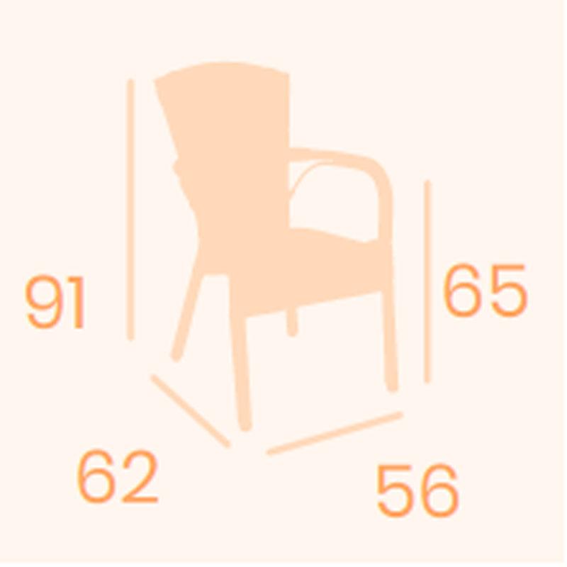 Dimensiones sillón Jamaica REYMA