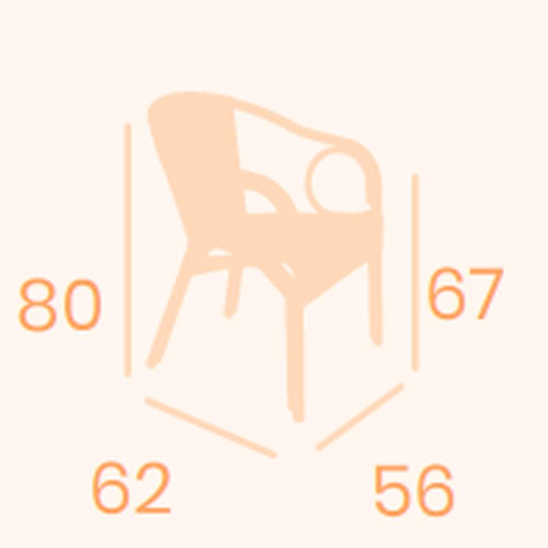 Dimensiones sillón Java REYMA