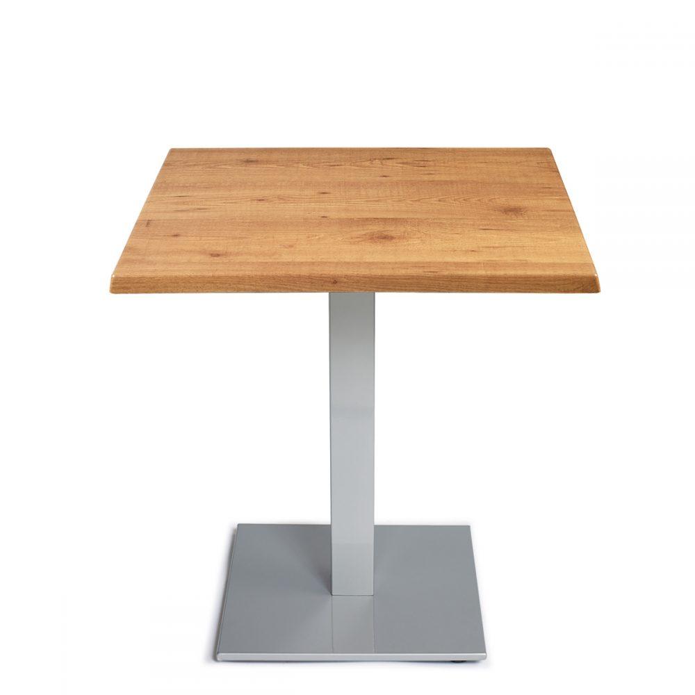 mesa munich 75cm pie aluminio