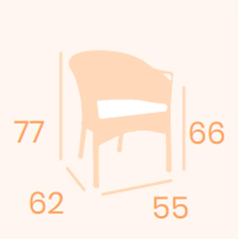 Dimensiones sillón Padua REYMA