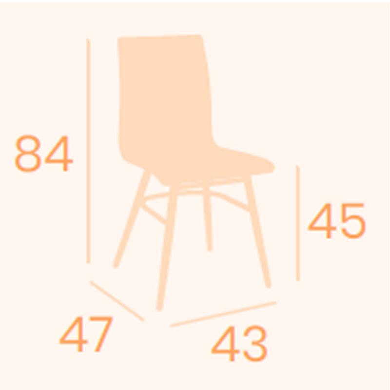 Dimensiones silla Prado REYMA