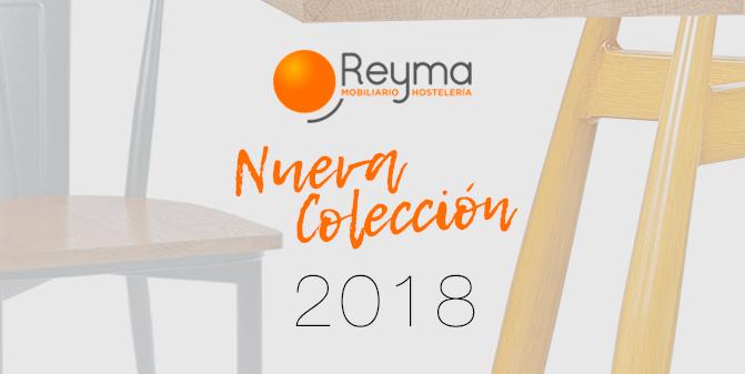 Reyma Mobiliario Hostelería colección 2018