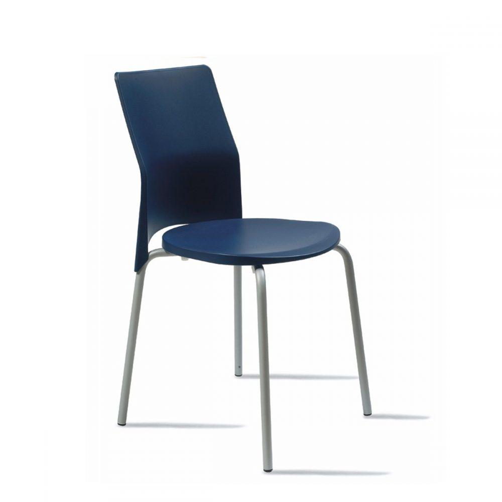 silla milan azul