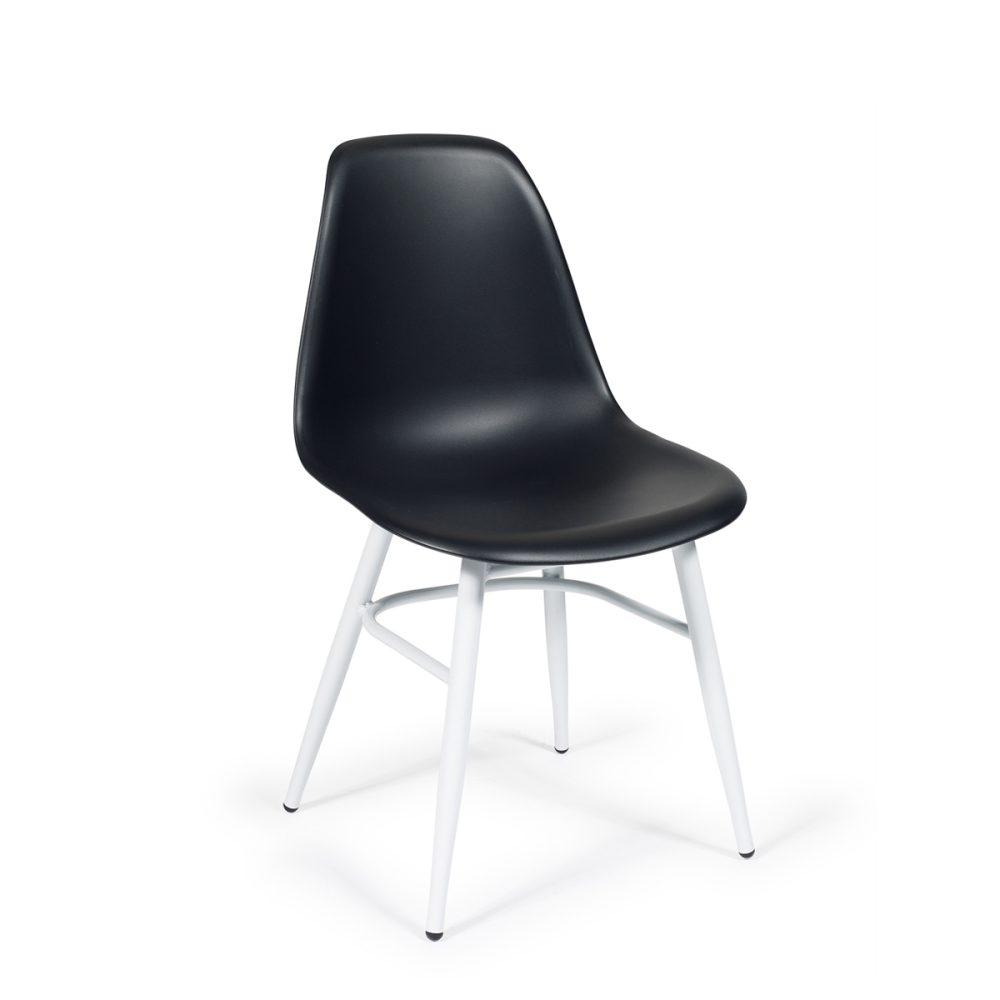 silla aluminio carcasa plástico