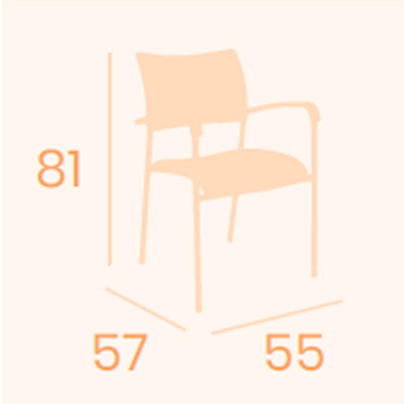 Dimensiones sillón Tokio REYMA