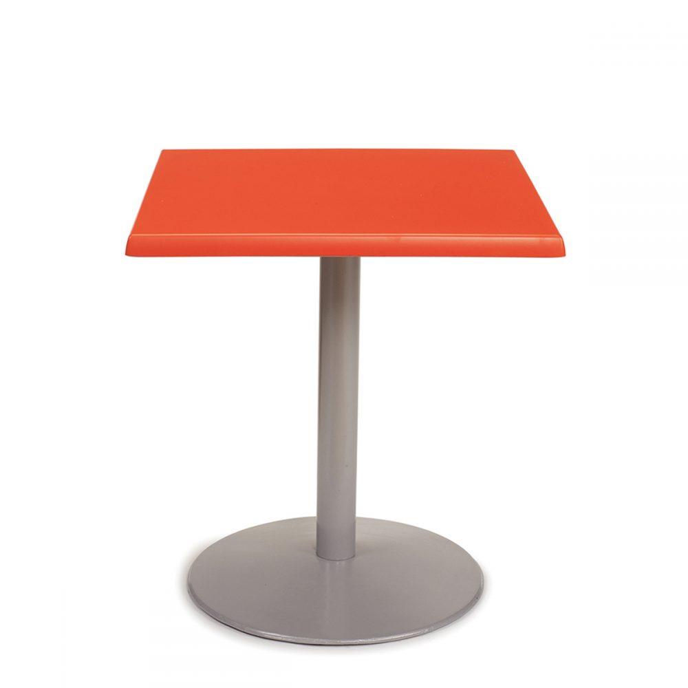 mesa fundicion hierro base rendonda