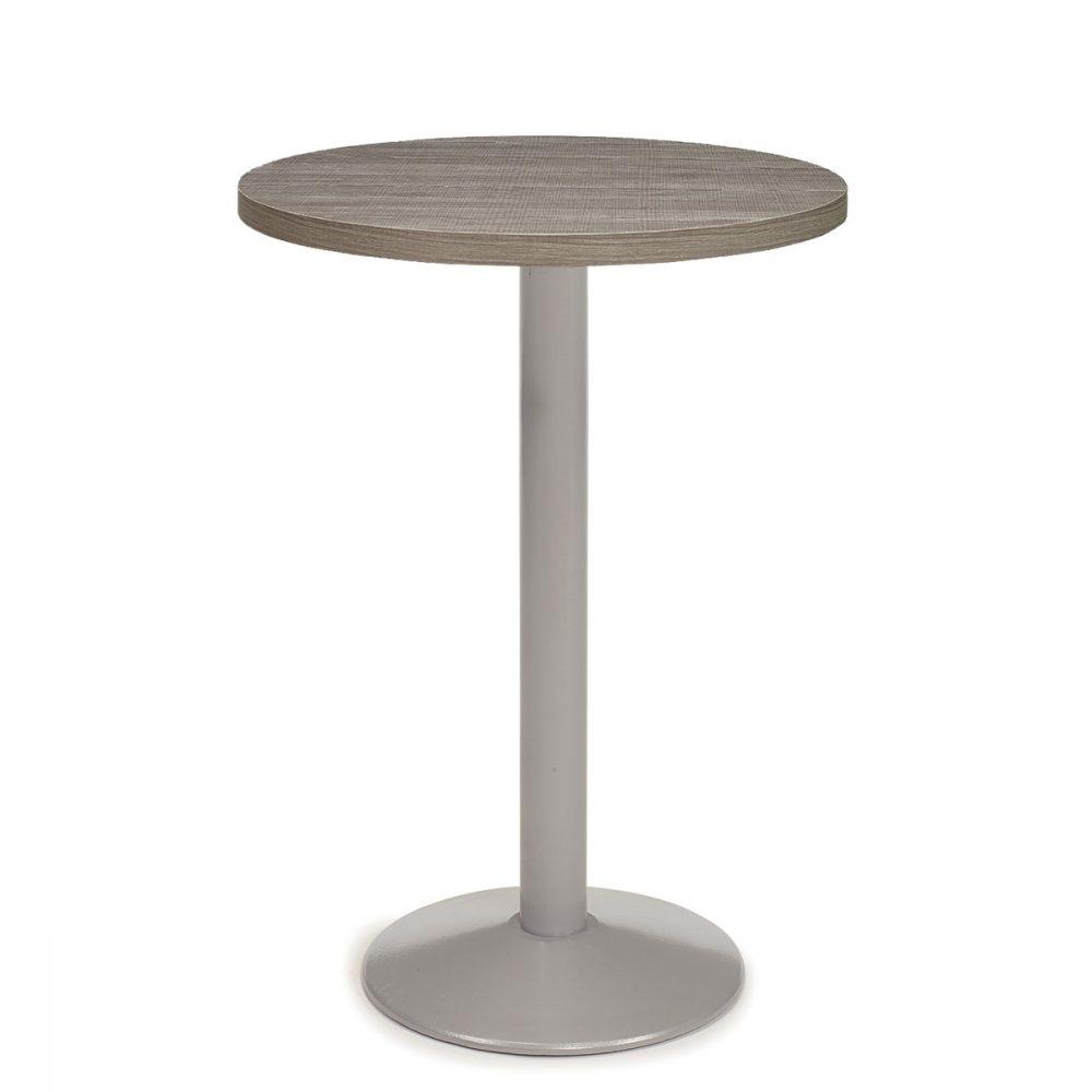 mesa 7150 pintada gris con tablero joplin REYMA