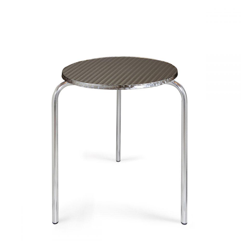 mesa apilable 3 patas