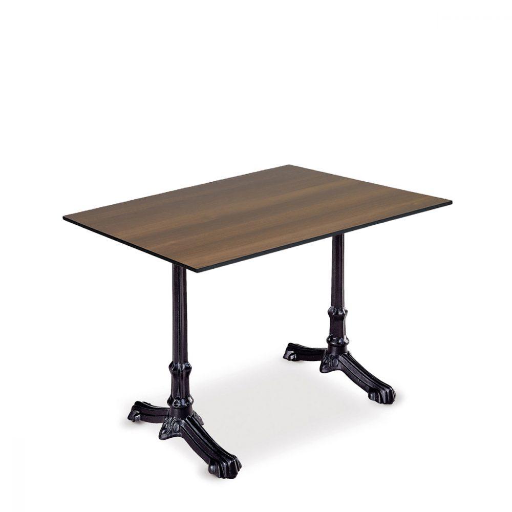 mesa anticuario rectangular con tablero compact