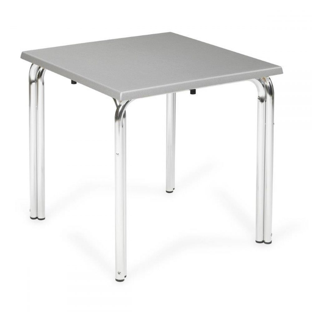 mesa apilable doble pata
