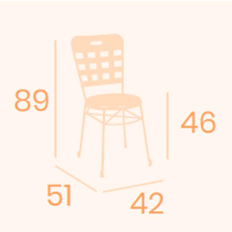 Dimensiones silla Aranjuez REYMA