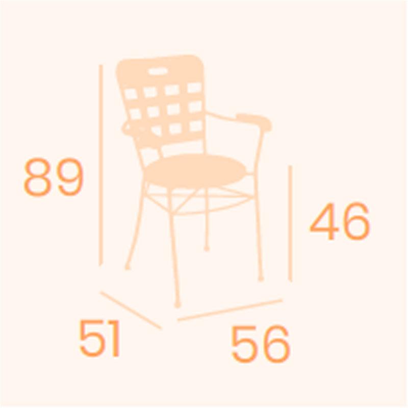 Dimensiones sillón Aranjuez REYMA