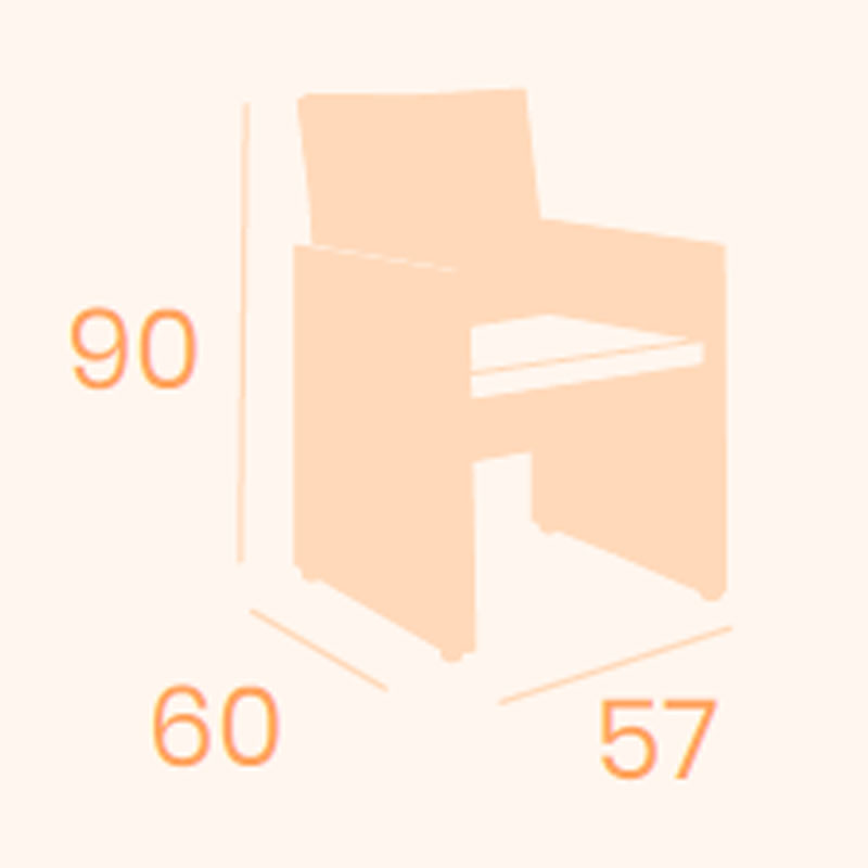 Dimensiones sillón Canada REYMA