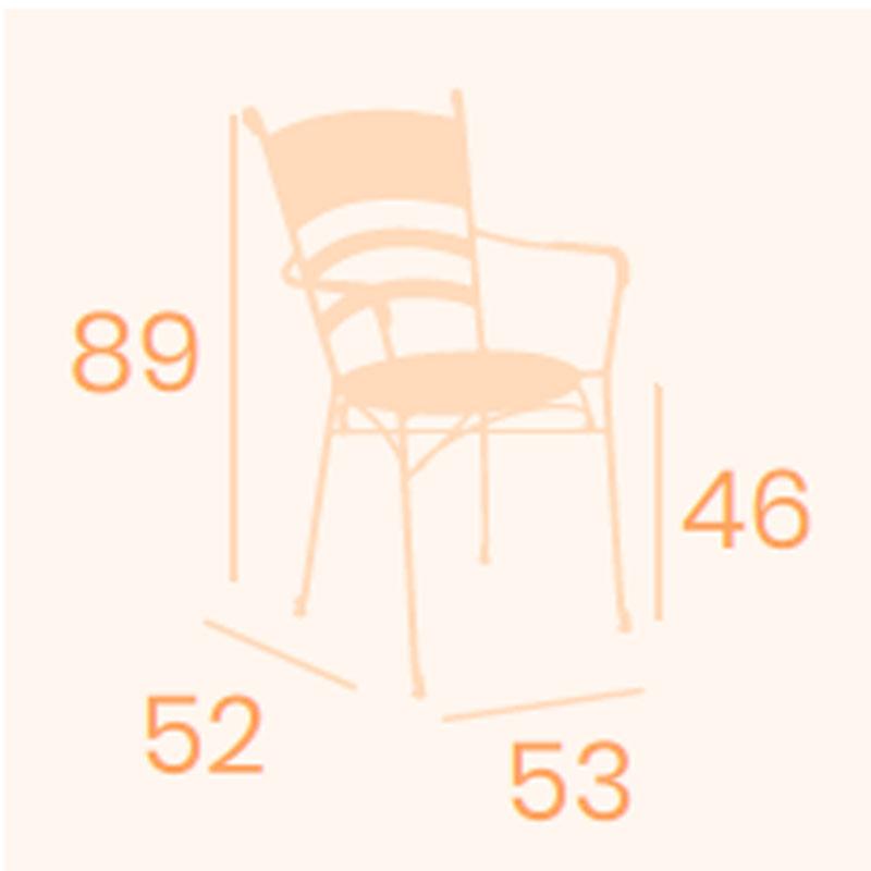 Dimensiones sillón Candil REYMA