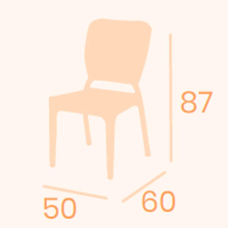 Dimensions chair Capri REYMA