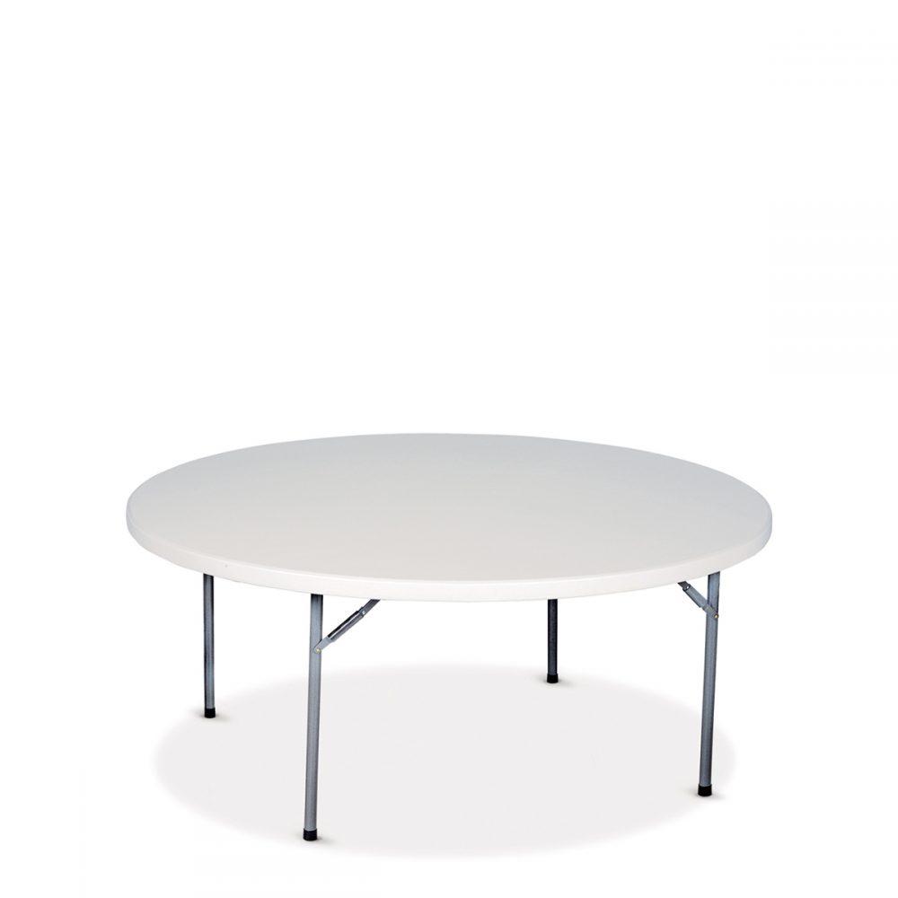 Mesa catering redonda