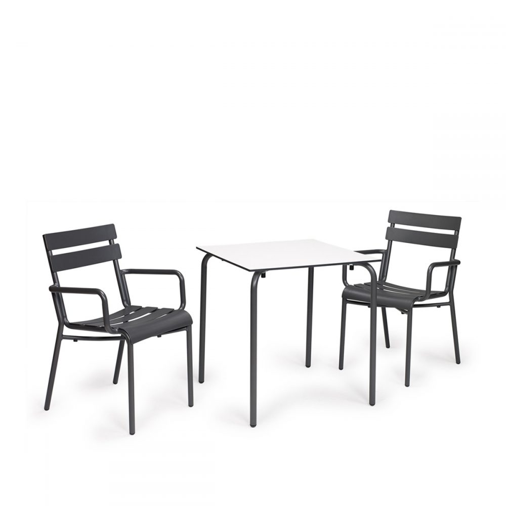 conjunto sillon versalles + mesa europa