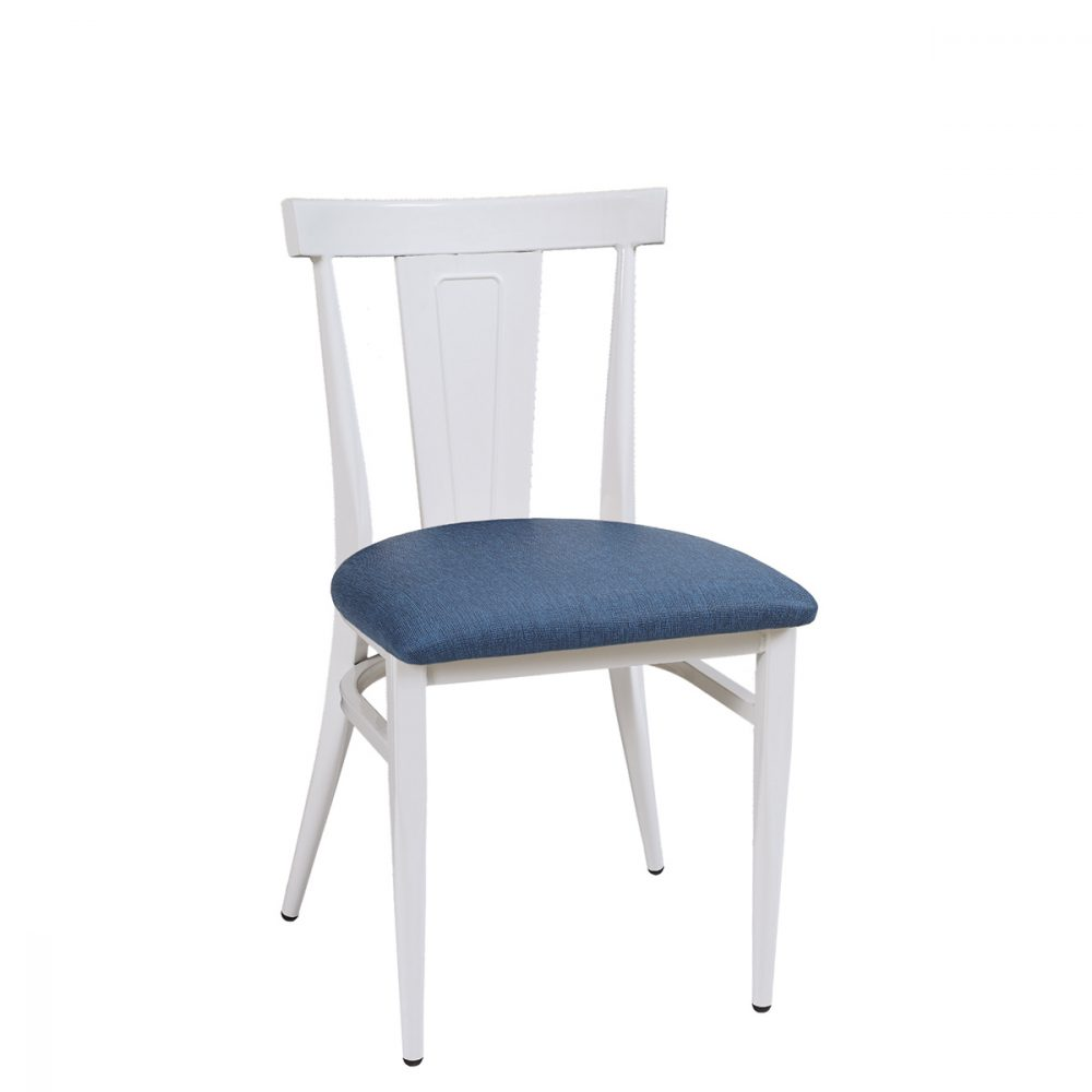 dakota-silla-blanco-asiento-tapizado-azul