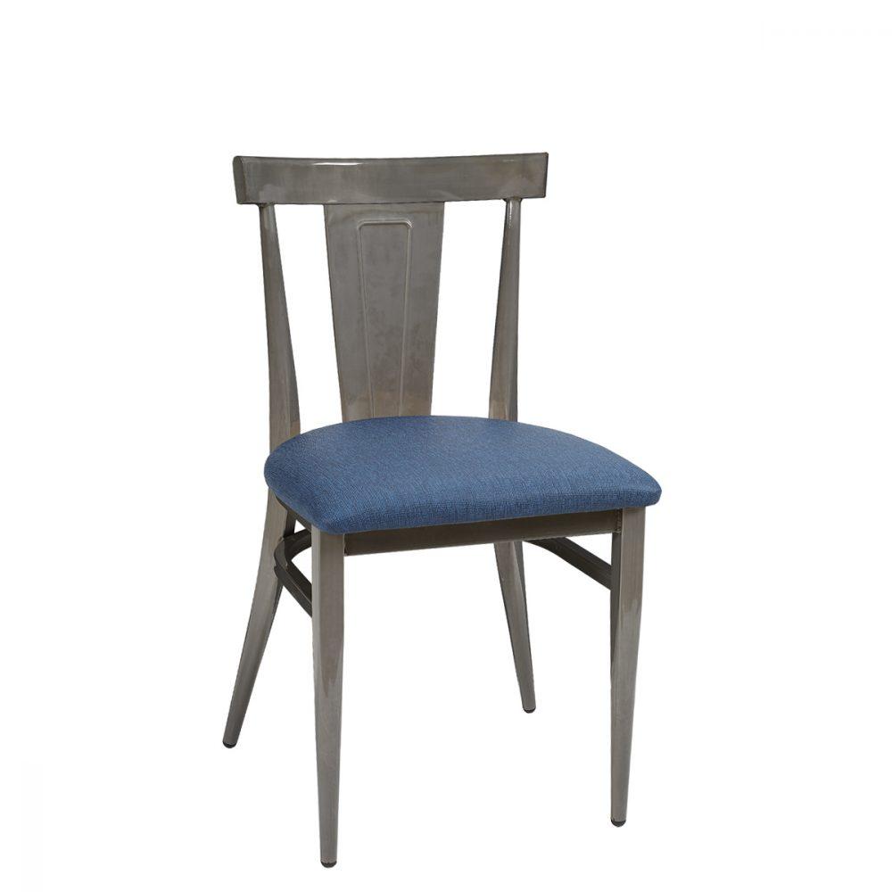 dakota-silla-gris-envejecido-asiento-tapizado-azul