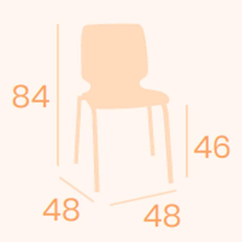 Dimensiones silla Denver M-4 REYMA