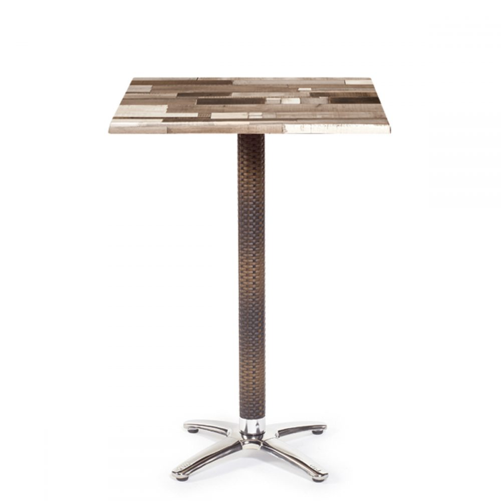 mesa dinamarca alta aluminio