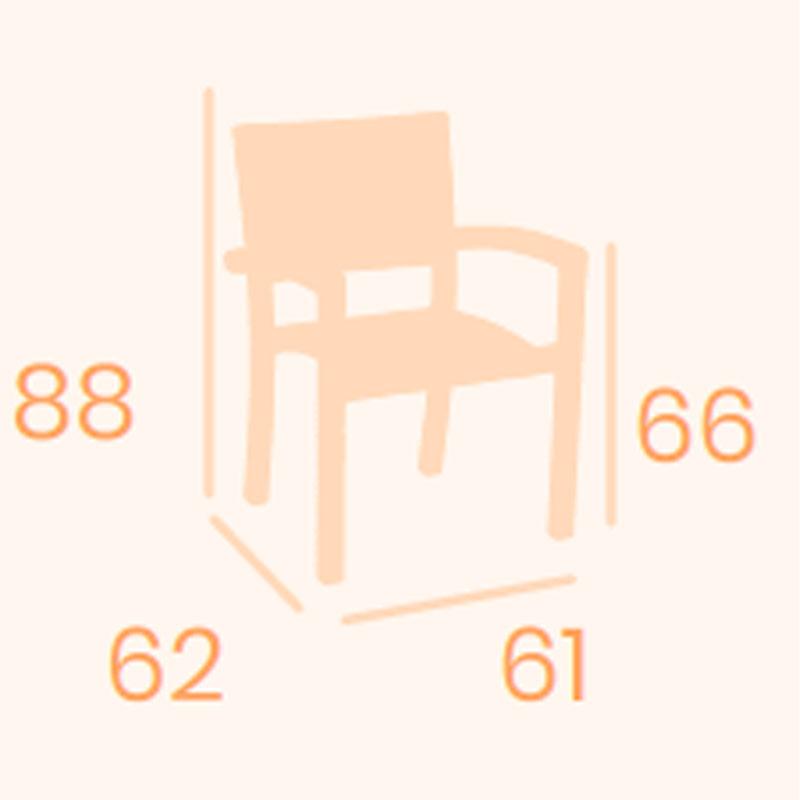 Dimensiones sillón Duomo REYMA