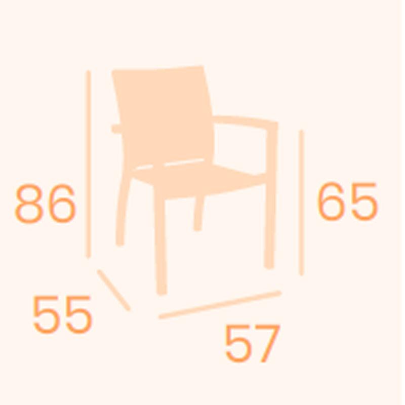 Dimensiones sillón Eros REYMA