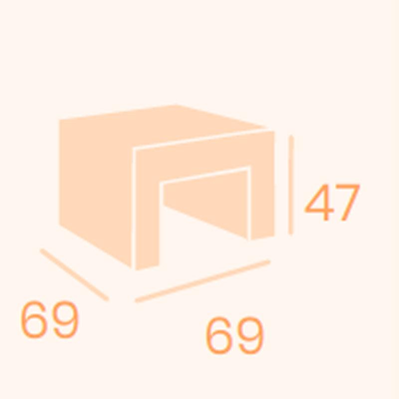 Dimensiones mesa espacio REYMA