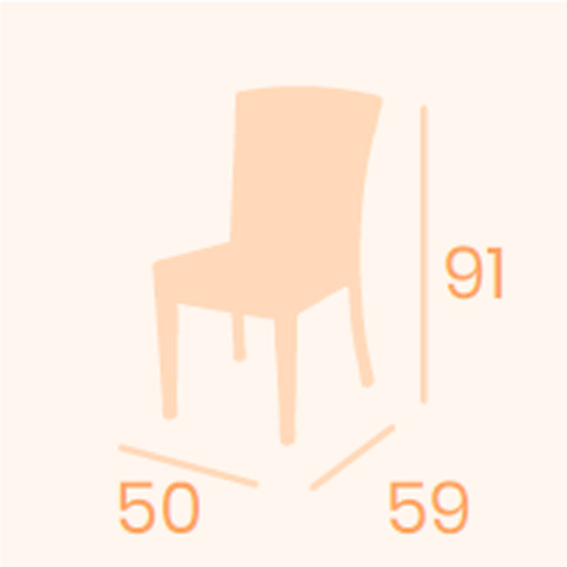Dimensiones silla Florencia REYMA