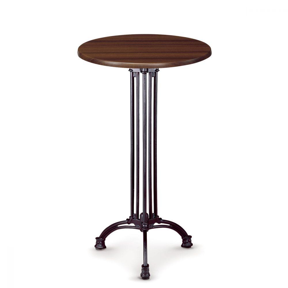 mesa marbella alta tablero redondo