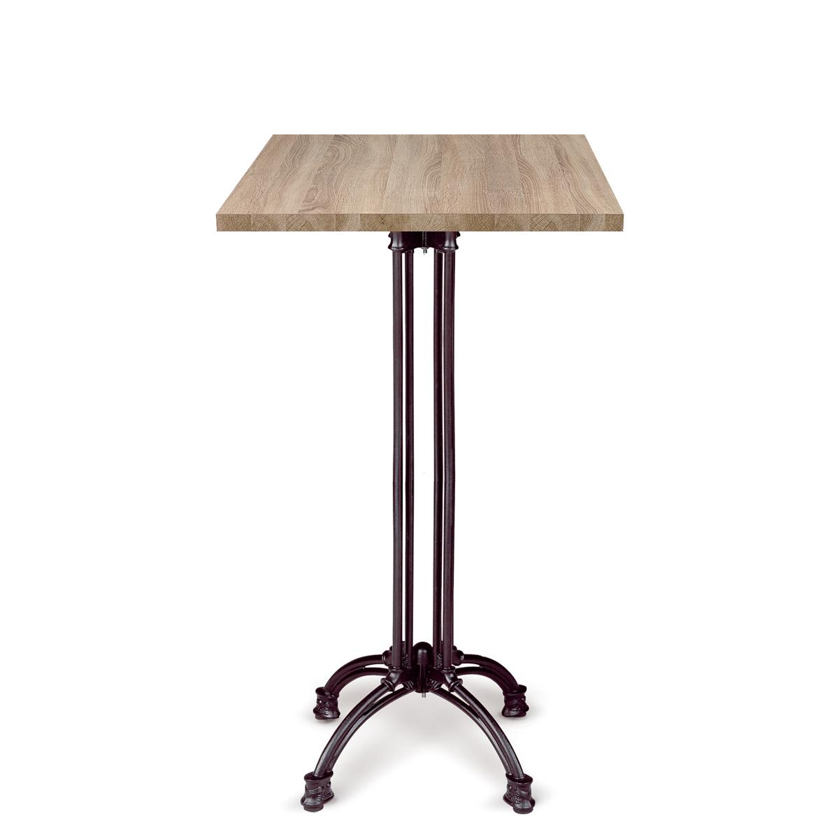 mesa marbella alta con tablero cuadrado