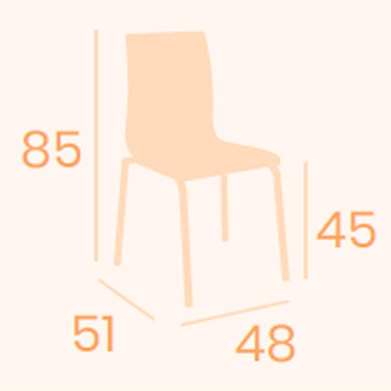 Dimensiones silla Míchigan M-4 REYMA