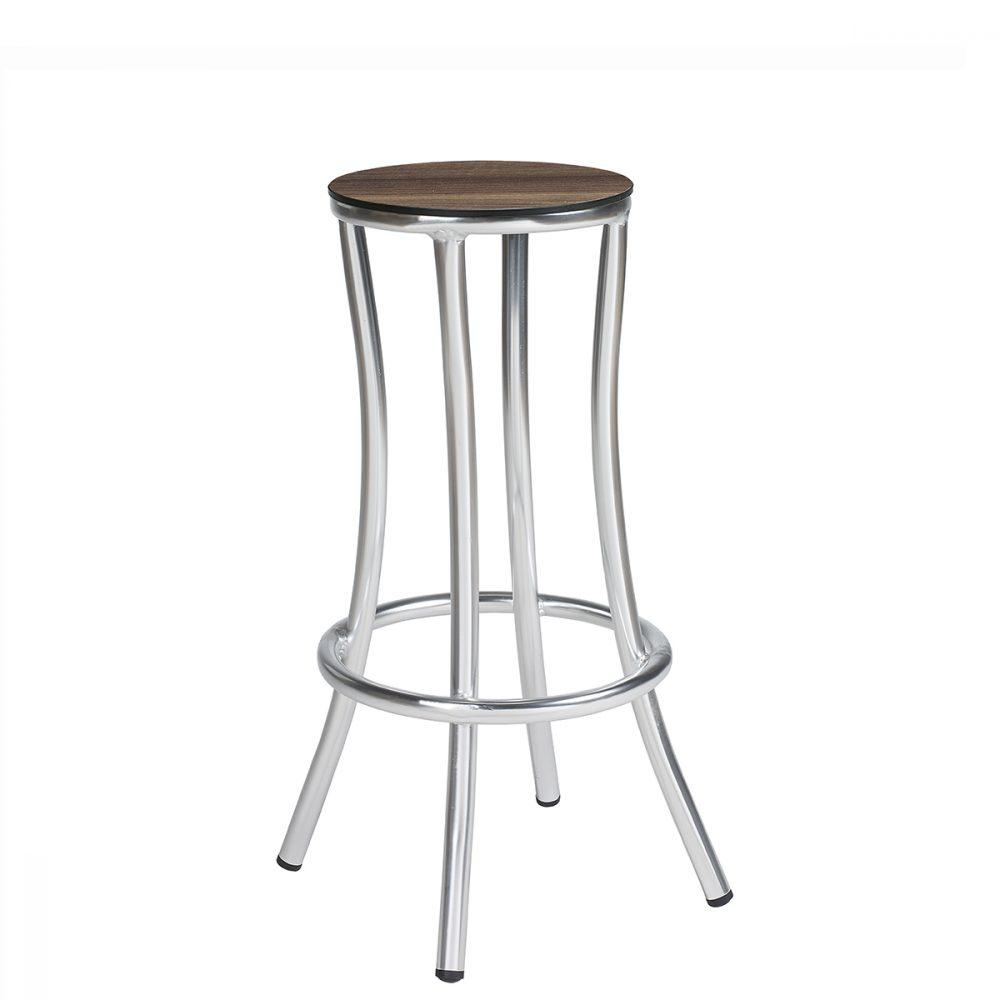 niza-banqueta-aluminio-asiento-compact-nogal-americano