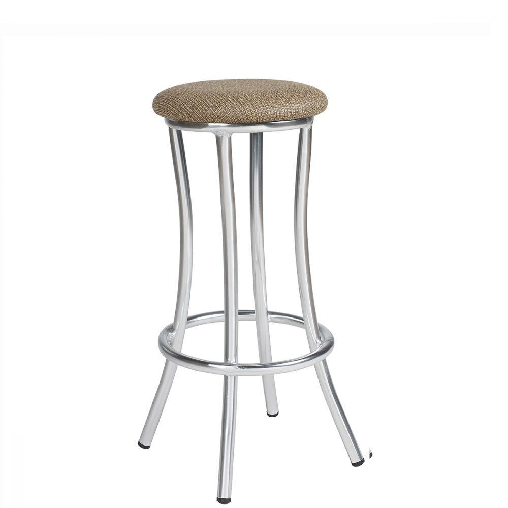 niza-banqueta-aluminio-asiento-tapizado-panam