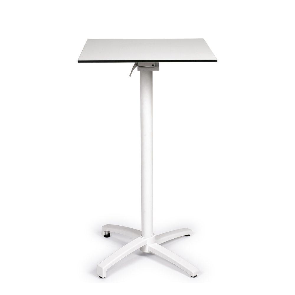 mesa noruega alta blanca