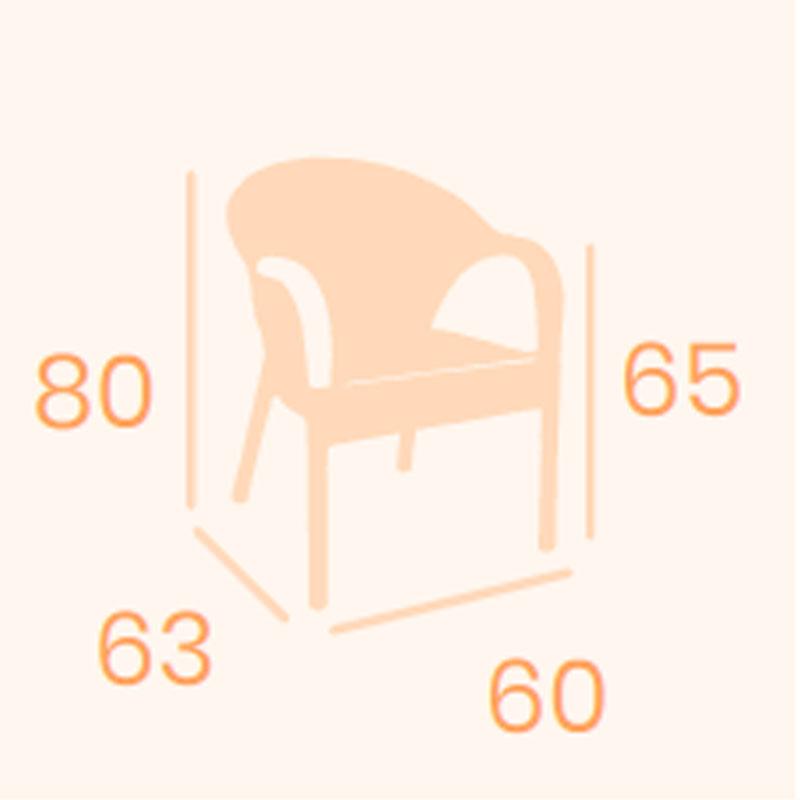 Dimensiones sillón Piamonte REYMA