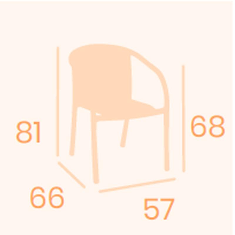 Dimensiones sillón Polo REYMA
