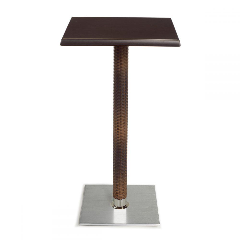 mesa roma alta base cuadrada medula