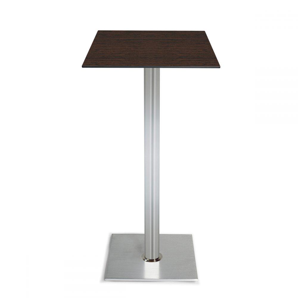 mesa roma alta base cuadrada