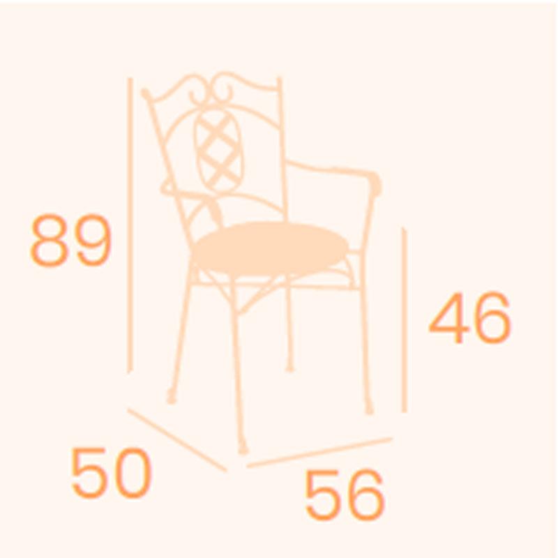Dimensions fauteuil Ronda REYMA